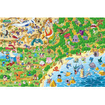 Pokemon - Pokemon Park 500 Large Piece Jigsaw Puzzle