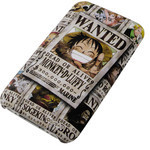 iPhone 3G/3GS Shell Jacket One Piece Luffy Wanted Poster