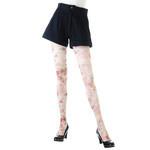 Harajuku Style Flower Print Tights/Leggings