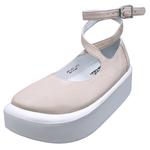 TOKYO BOPPER No.871 / Pink Nubuck ballerina shoes