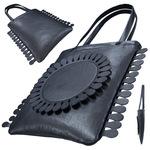 TOKYO BOPPER No.11120/Black Milkcrown tote bag