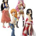 Half Age Characters - ONE PIECE [girls party!] (8pcs)