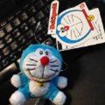 Doraemon stuffed toy mascot