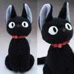 kiki's delivery service jiji Plush Doll M size Studio Ghibli Japan