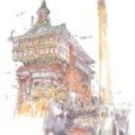 300-283 Spirited Away bathhouse that God over to Chihiro Studio Ghibli image Art Series 300 Piece thousand gather