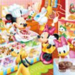 DC80-046's cakes and Child Mickey puzzle