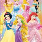 Disney Children's Jigsaw Puzzle 96 piece Princess DK-96-020 glitter