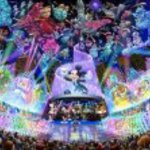 Tenyo Japan Jigsaw Puzzle D-1000-399 Disney Water Dream Concert (1000 Pieces)