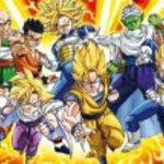 Dragonball Z - Warriors in the Face of a Great Adversary 1000 Piece Jigsaw Puzzle