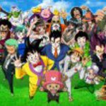 The contest of the dream - Dragon Ball Z & From TV Animation One Piece