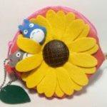 Flower Garden Sunflower Coin Purse of My Neighbor Totoro Totoro
