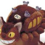 """Totoro : Cat Bus Plush - 10"""""""