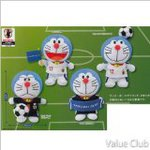 Dora Doraemon plush Japan national soccer team Ver (complete set of 4)