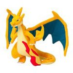 "Pokemon Center Japan Mega Charizard Y Stuffed 9"" Plush Doll"