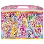 Friend Forever Newstage3 Case with Puzzle 65p Movie Pretty Cure All Stars!
