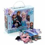 Puzzle Disney (Disney) Frozen 32 Piece Glitter Puzzle Ana and the snow Queen set [parallel import goods]