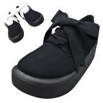 TOKYO BOPPER No.875 /  Black-R ribbon shoes
