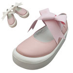 TOKYO BOPPER No.877 /  Pink smooth ribbon shoes