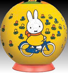 240 piece Miffy's Bicylce 3D Puzzle