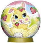 60 Piece Miss Bunny 3D Puzzle