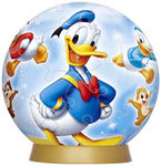 Donald and Rivals 60P 3D Puzzle