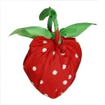 MOTTAINAI THANKS FUROSHIKI Bag: Yanai Michihiko Strawberry Design L08001
