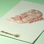 MOTTAINAI Relief Art Card - L (Bream) W07006