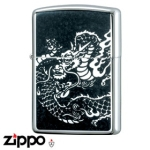 Dragon Zippo - Armor 162 Dragon - Black Metalic