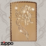 Dragon Zippo - Gilded Tribal Eagle Zippo