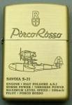 Ghibli Zippo - Porco Rosso - Savoia S21 Seaplane