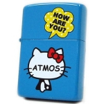 Zippo - Hello Kitty x Atmos Collaboration Model - Blue