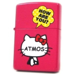 Zippo - Hello Kitty x Atmos Collaboration Model - Pink