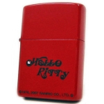 Zippo - Hello Kitty Logo Series - Red