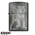 Zippo - Micro-Laser White Tiger