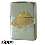 Sterling Silver Zippo - Red Fuji Zippo