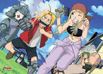 Fullmetal Alchemist - A Pieceful Afternoon Jigsaw Puzzle