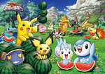 Pokemon Arceus: To the Conquering of Space-Time - Bon Apetit! Jigsaw Puzzle