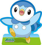 Pokemon Diamond and Pearl  - Piplup Jigsaw Puzzle