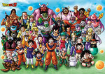 Dragon Ball Z - All Stars Jigsaw Puzzle