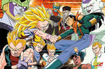 Dragon Ball GT - The Adversaries Jigsaw Puzzle