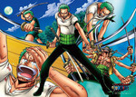 One Piece - The Greatest Swordsman Jigsaw Puzzle