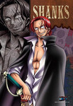 One Piece Redbeard Pirates - Shanks Jigsaw Puzzle