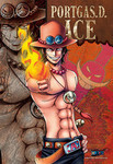 One Piece Whitebeard Pirates - Portgas D. Ace Jigsaw Puzzle
