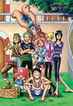 One Piece - On the Deck of the Thousand Sunny Jigsaw Puzzle