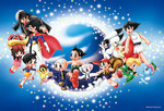Tezuka Osamu - Nostalgic Characters Jigsaw Puzzle