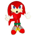 Sonic the Hedgehog - Knuckles the Echidna Plush (S)