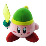 Kirby - Sword Kirby Plush (S)