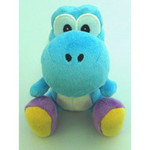 Super Mario - Light Blue Yoshi Plush (SS)