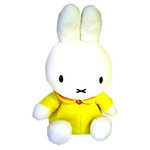 Miffy Plush - Yellow (L)