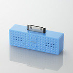 ELECOM - SOUNDBLOCK Speakers - Blue (ASP-P300BU)